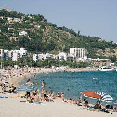 Der Strand von s'Abanell  (Servicios Editoriales Georama)
