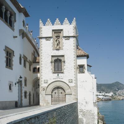 Façana del Palau Maricel de Mar i Maricel de Terra  (Servicios Editoriales Georama)