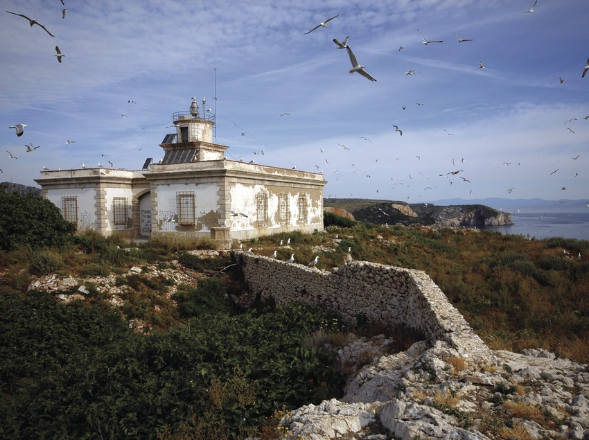Leuchtturm des Meeresreservats der Medas-Inseln.  (José Luis Rodríguez)