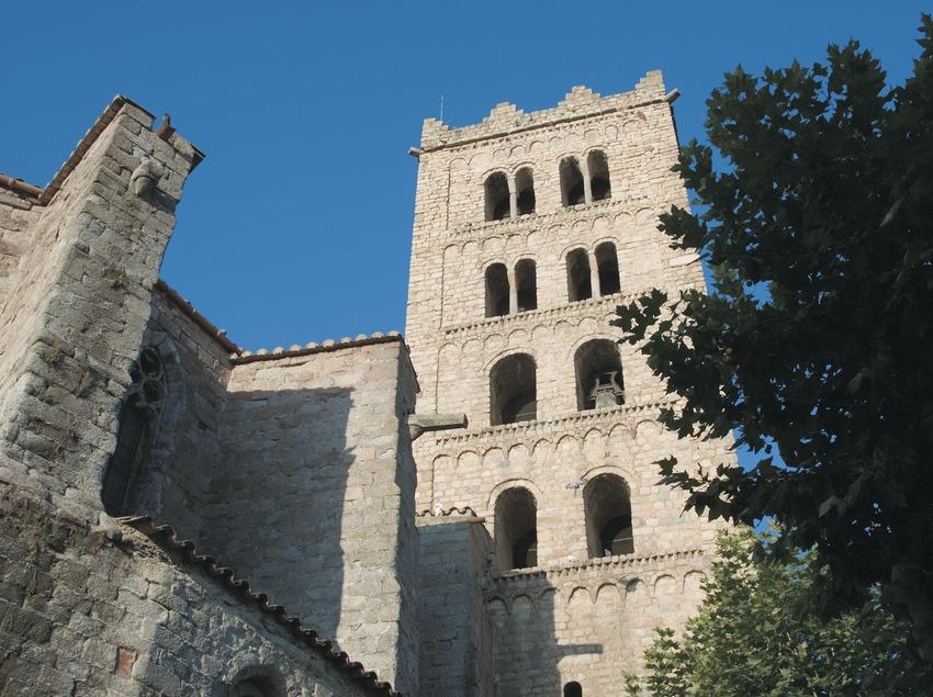 Clocher de l'église du monastère de Sant Salvador  (Servicios Editoriales Georama)