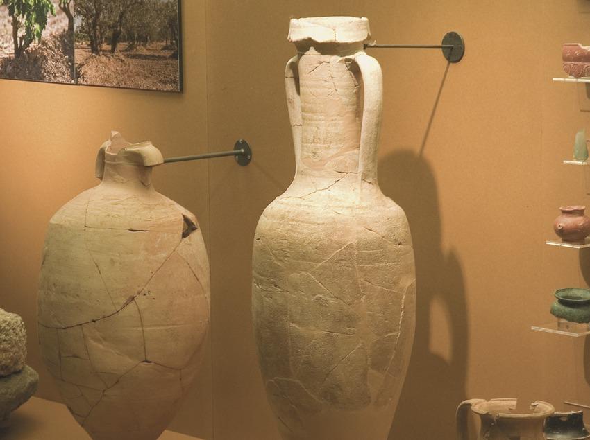 Àmfora romana (segle I. a.C.) de la sala d'arqueologia del Museu Comarcal de l'Urgell  (Servicios Editoriales Georama)