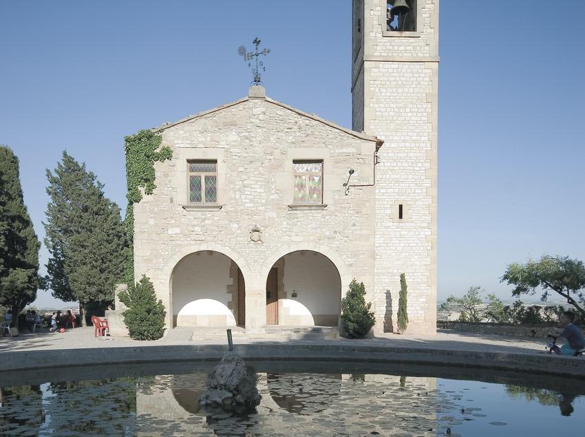 Façade du sanctuaire Sant Eloi  (Servicios Editoriales Georama)