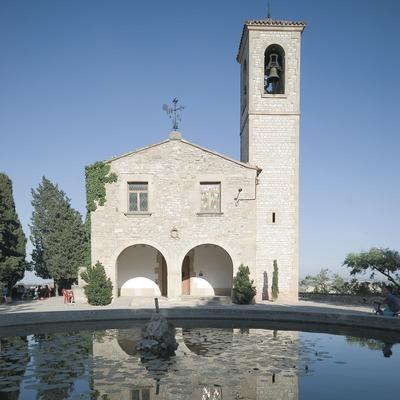 Fachada del santuario de Sant Eloi  (Servicios Editoriales Georama)