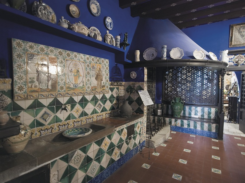Interior of the Cau Ferrat Museum  (Servicios Editoriales Georama)