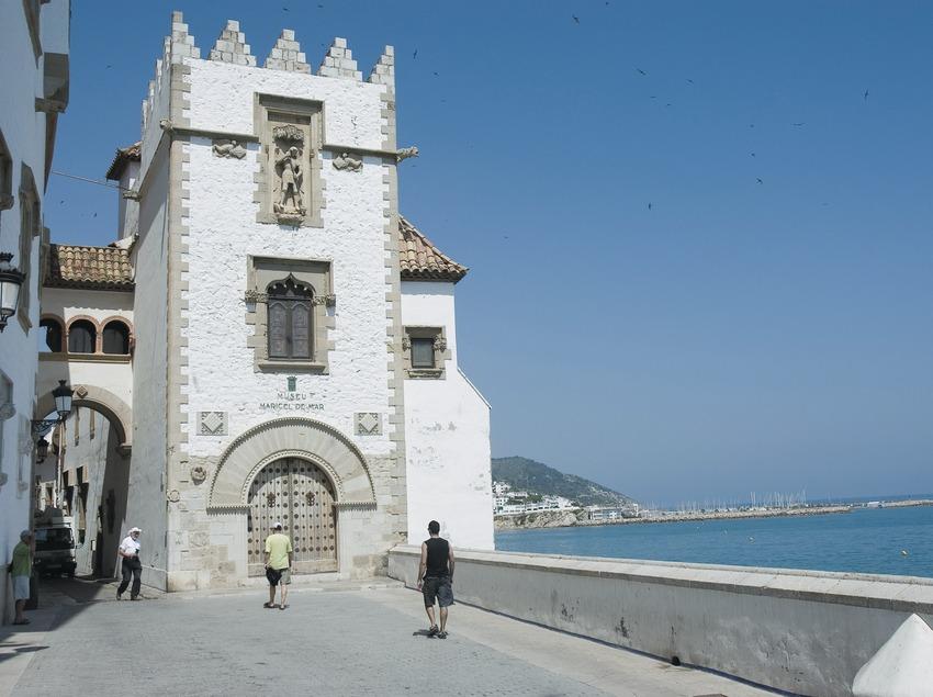Fachada del Palau Maricel de Mar i Maricel de Terra  (Servicios Editoriales Georama)