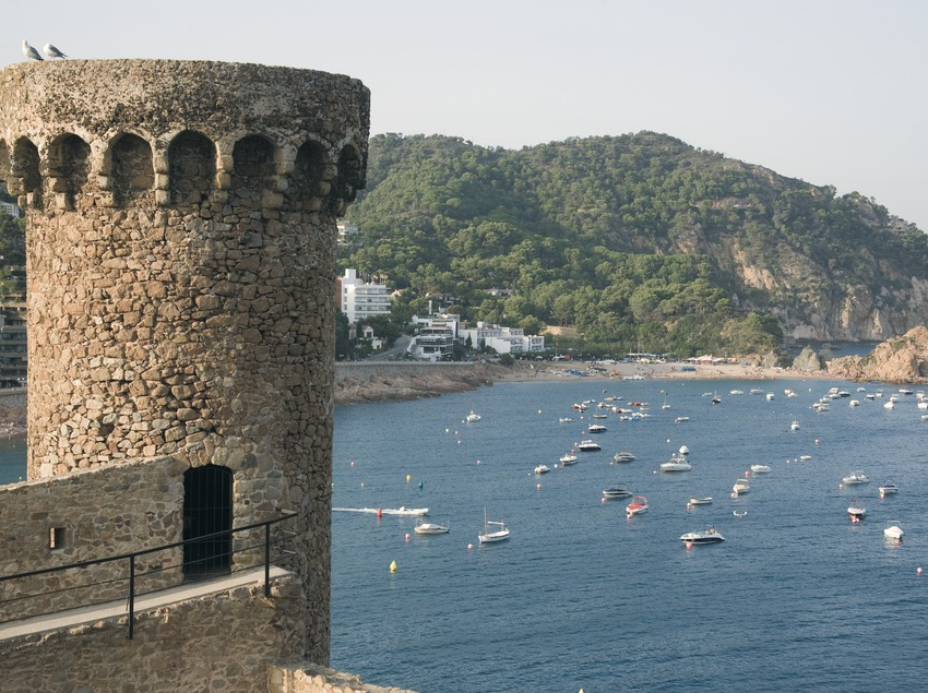 Watchtower of Tossa's Vila Vella  (Servicios Editoriales Georama)