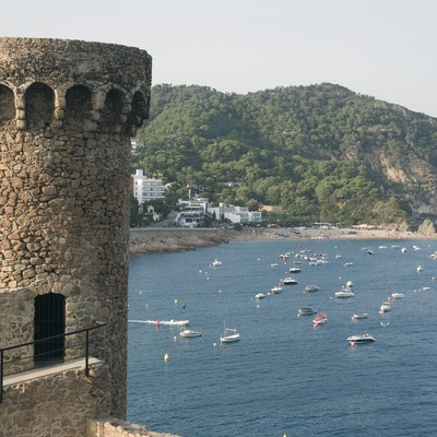 Torre de guaita de la Vila Vella de Tossa  (Servicios Editoriales Georama)