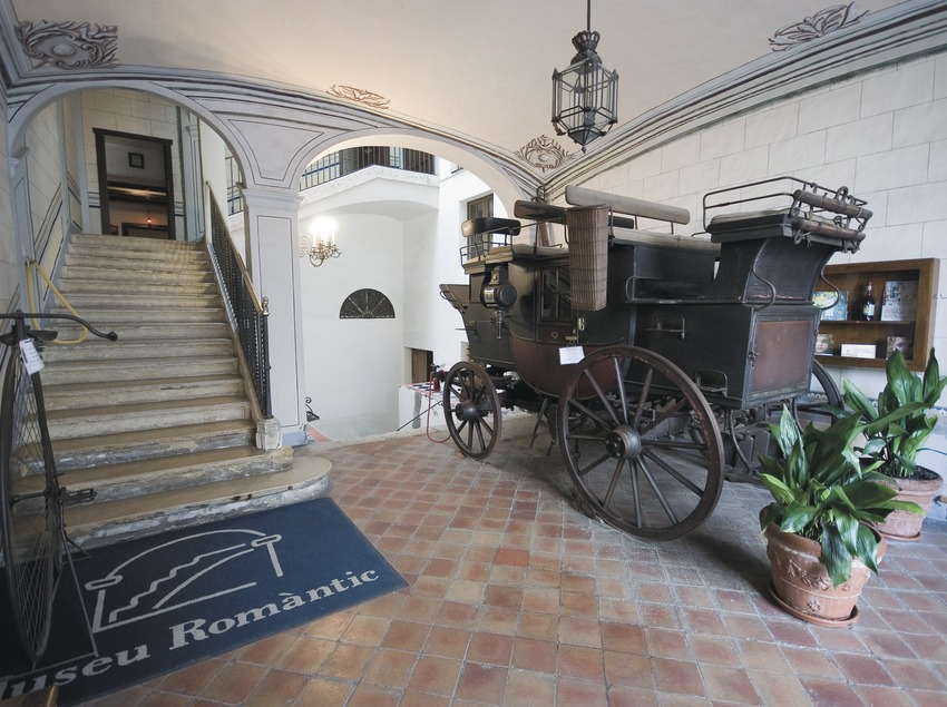Vestíbul del Museu Romàntic Can Llopis  (Servicios Editoriales Georama)
