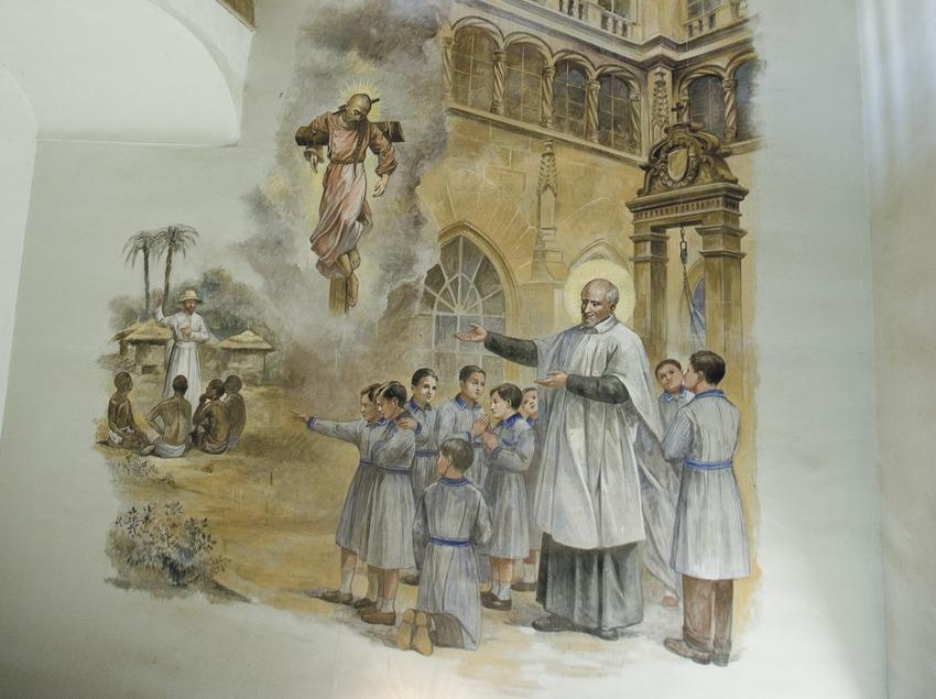 Pintures murals de l'església del convent de Sant Bartomeu  (Servicios Editoriales Georama)