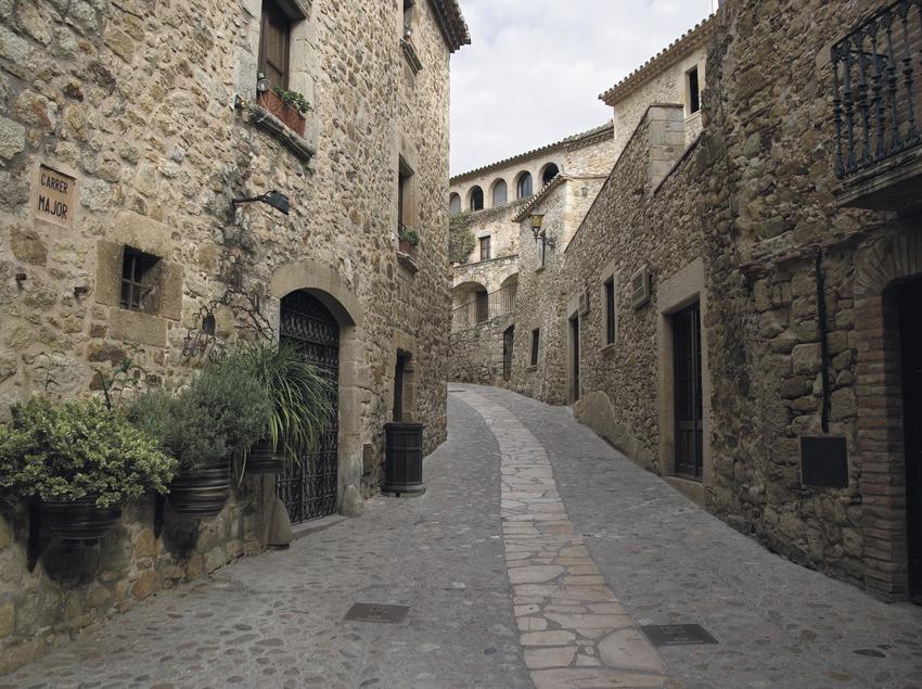 Carrer del centre històric  (Servicios Editoriales Georama)