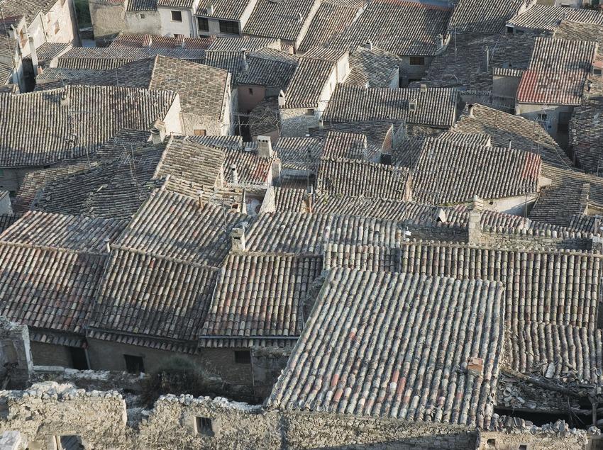 Nucli medieval des de la torre del castell  (Servicios Editoriales Georama)