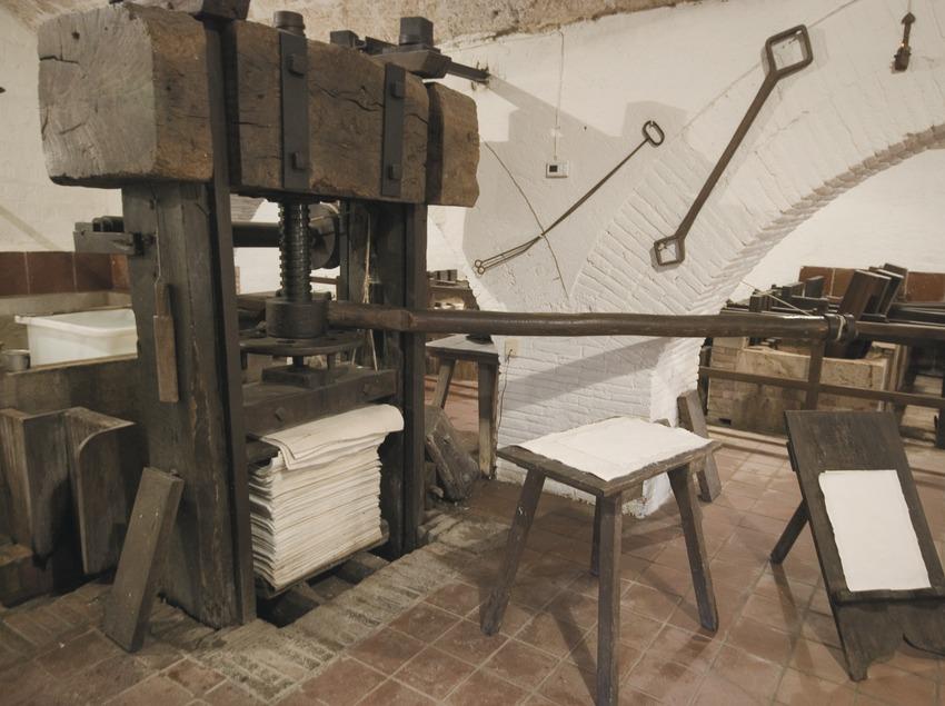 Interior del Museu Molí Paperer de Capellades  (Servicios Editoriales Georama)