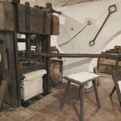 Interior del Museo Molino Papelero de Capellades  (Servicios Editoriales Georama)