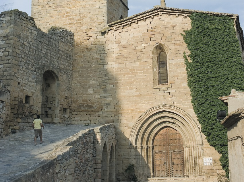 Iglesia de Sant Sebastià  (Servicios Editoriales Georama)