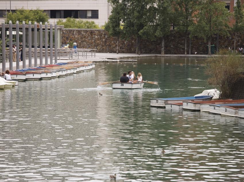 Озеро в парке Каталонии (Nano Cañas)
