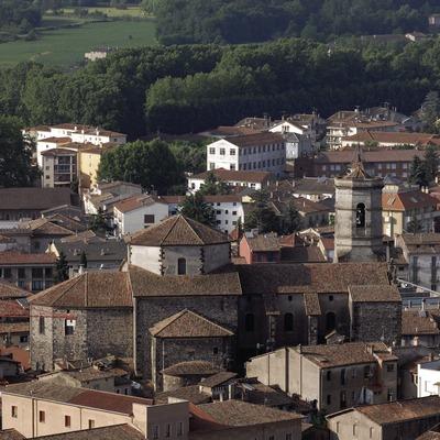 Vista de la localitat.
