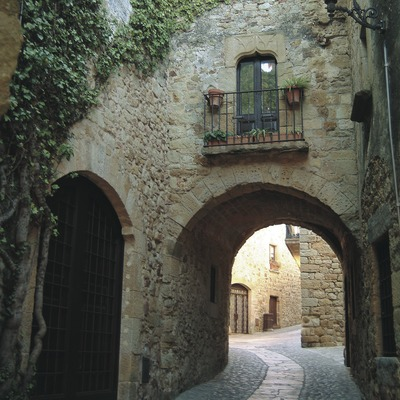 Callejón medieval
