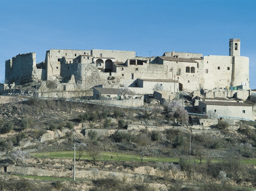 Montfalcó Murallat village on a hill in Pla de Vergós  (Servicios Editoriales Georama)