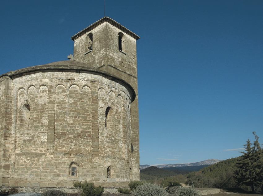 Ábside de la Iglesia de Sant Esteve d'Olius  (Servicios Editoriales Georama)