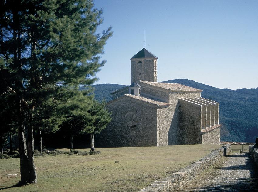 Santuario de la Mare de Déu de Lord  (Servicios Editoriales Georama)