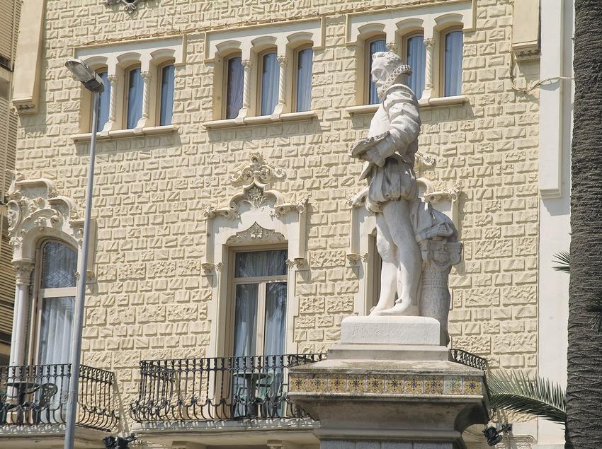 Monumento al Greco en el paseo de la Ribera  (Servicios Editoriales Georama)