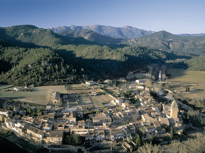 Vista del núcleo medieval  (Servicios Editoriales Georama)