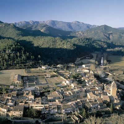 Vista del nucli medieval  (Servicios Editoriales Georama)