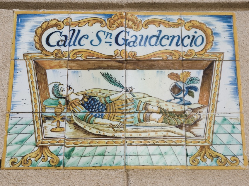 Ceramic tiles near the Romantic Museum  (Servicios Editoriales Georama)