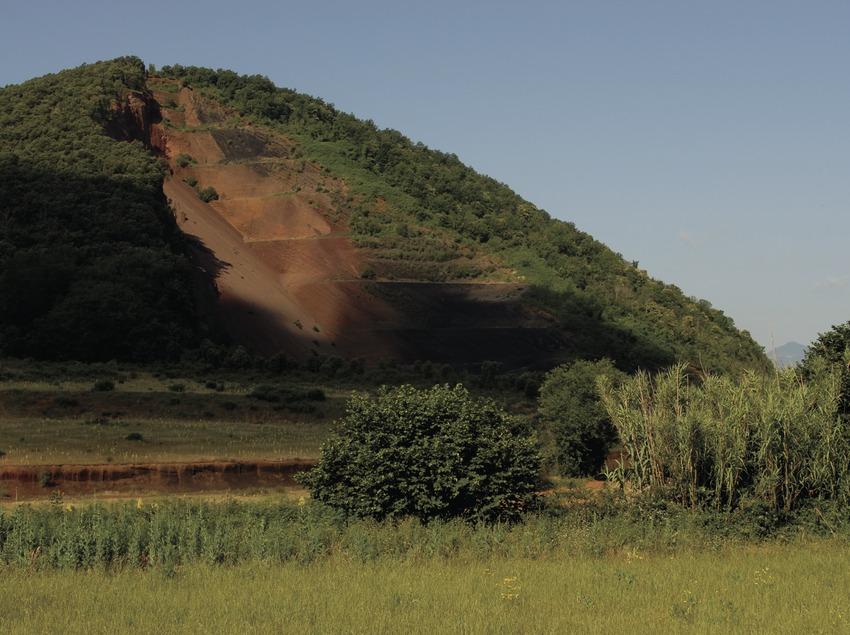 Der Vulkan Croscat im Naturpark Vulkane der La Garrotxa.
