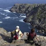 Hikers in the Cap de Creus Natural Park.