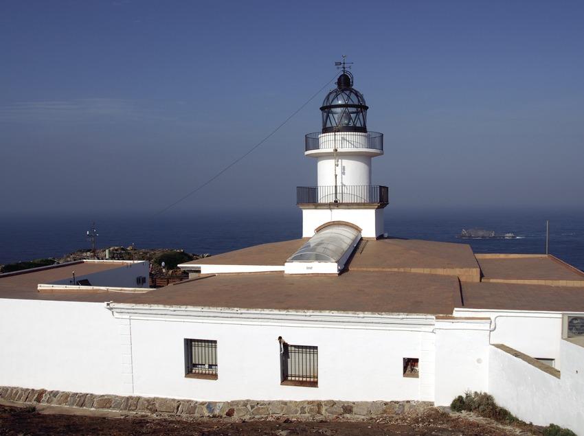 Lighthouse in Cap de Creus Natural Park.  (José Luis Rodríguez)