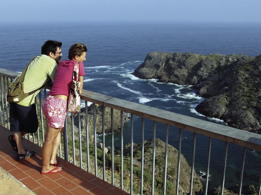 Mirador del far del Parc Natural del Cap de Creus.  (José Luis Rodríguez)