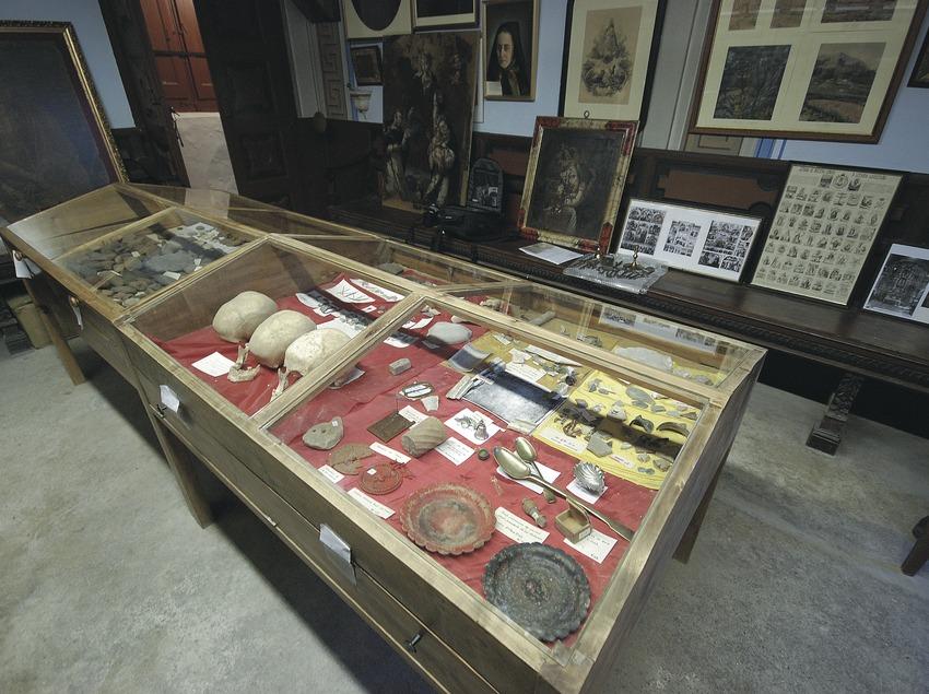 Sala del museo de la Vall de Lord  (Servicios Editoriales Georama)