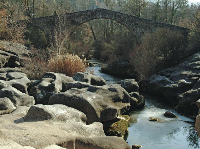 Pont medieval de Merlès