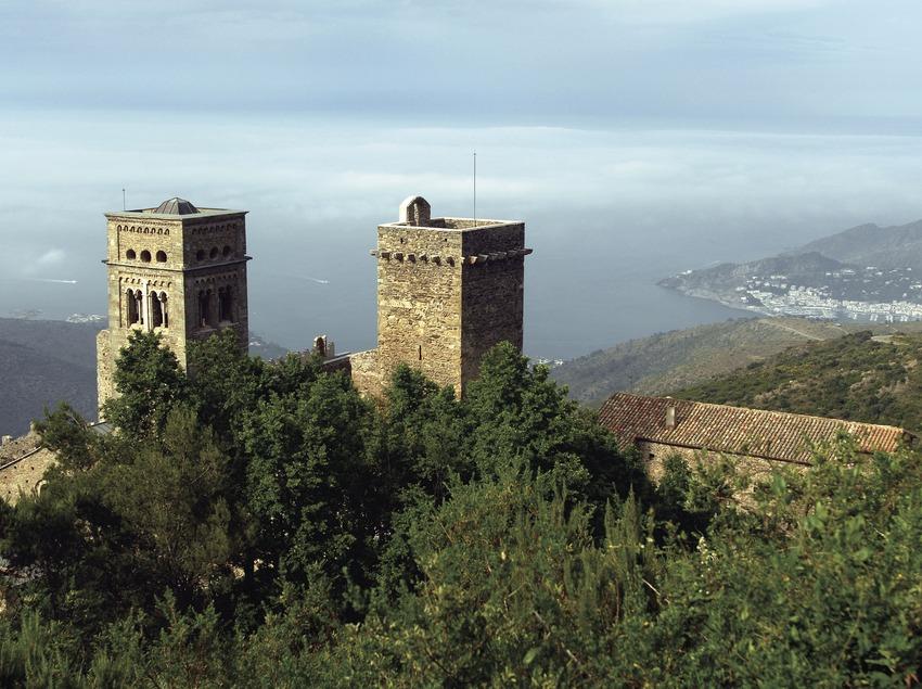 Monasterio de Sant Pere de Rodes en el Parque Natural del Cap de Creus.  (José Luis Rodríguez)