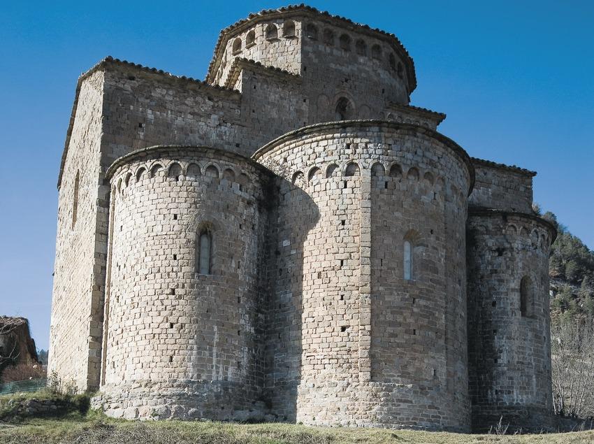 Absis de l'església de Sant Jaume de Frontanyà  (Servicios Editoriales Georama)