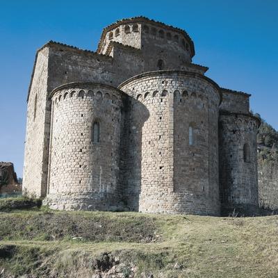 Ábside de la iglesia de Sant Jaume de Frontanyà  (Servicios Editoriales Georama)