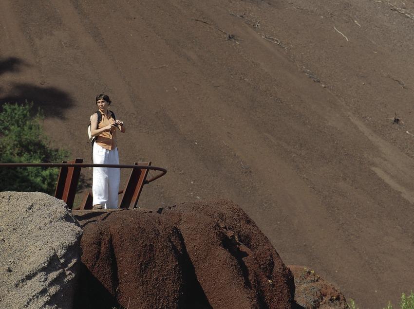 Croscat Volcano in La Garrotxa Volcanic Area Natural Park.