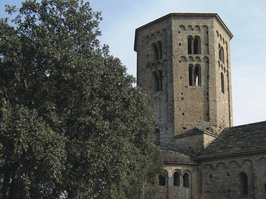 Clocher de la collégiale Sant Pere de Ponts  (Servicios Editoriales Georama)