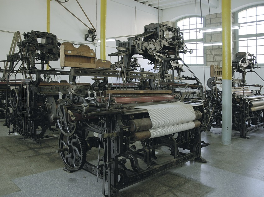 Telers a l'interior del Museu de la Colònia Vidal  (Servicios Editoriales Georama)