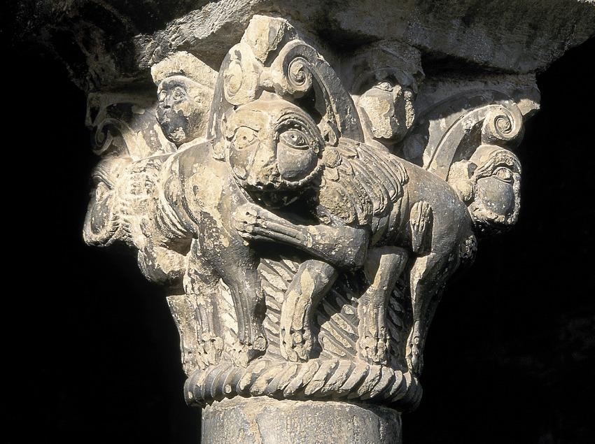 Capitell de l'església de Sant Jaume  (Servicios Editoriales Georama)