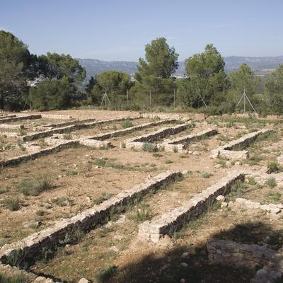 Village ibérique du Castellet de Banyoles  (Miguel Raurich)