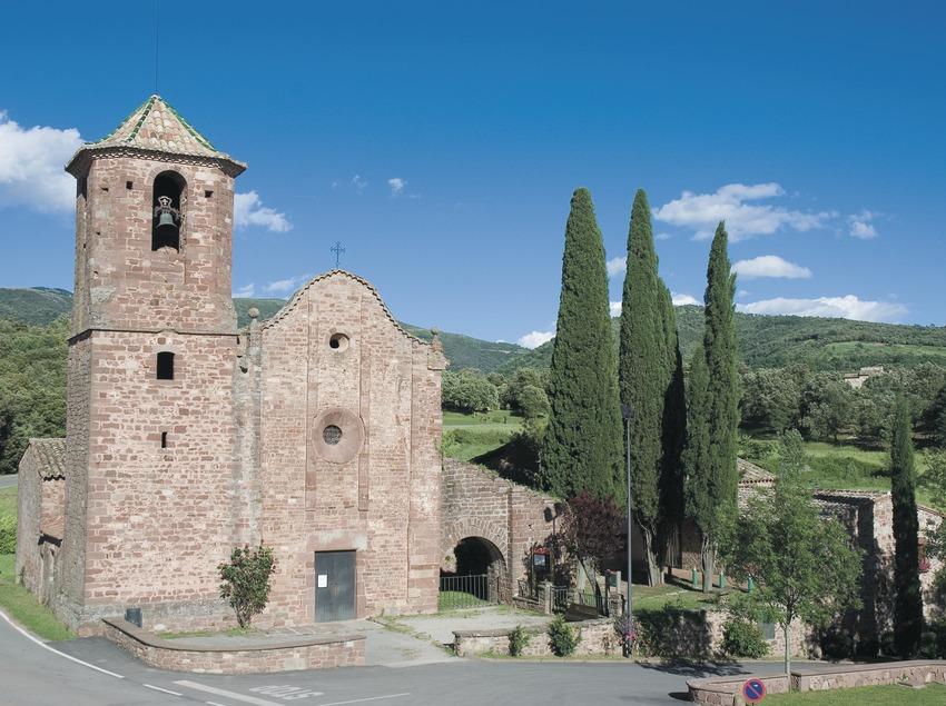 Iglesia de Sant Martí, en el macizo del Montseny  (Servicios Editoriales Georama)