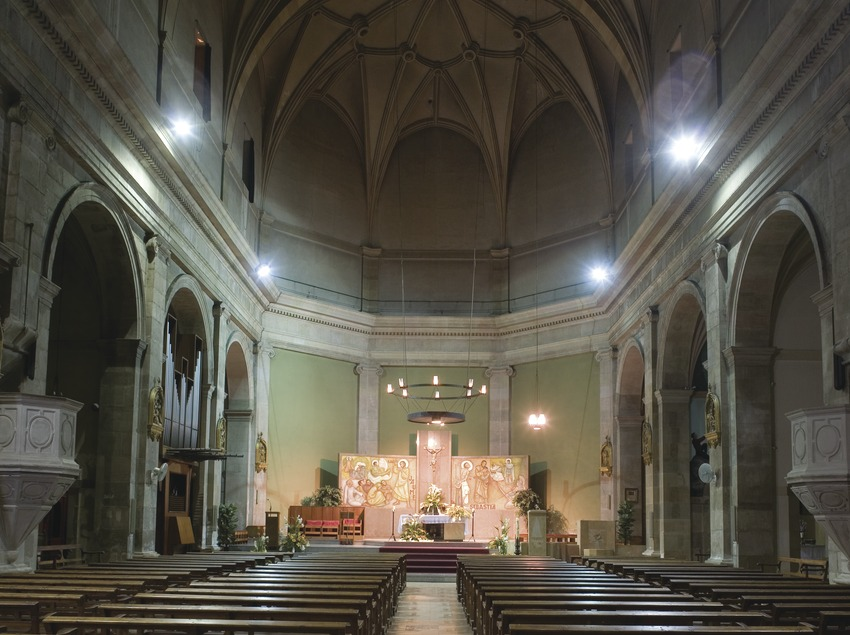 Nave of the church of Sant Jaume  (Miguel Raurich)