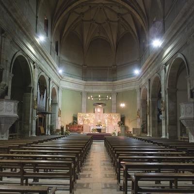 Nef centrale de l'église Sant Jaume  (Miguel Raurich)