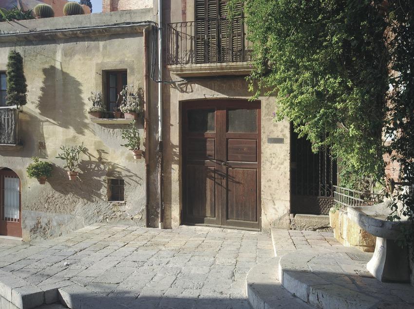 Racó del centre històric prop de les muralles romanes  (Servicios Editoriales Georama)