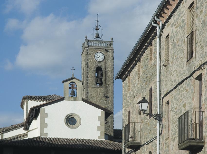 Iglesia de Sant Roc en Cantonigròs  (Servicios Editoriales Georama)