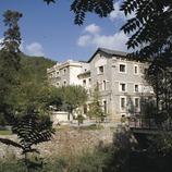Balneario y el río Riucorb  (Miguel Raurich)