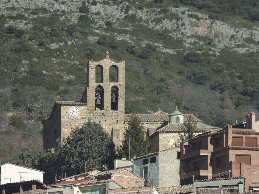 Le centre historique et l'église Sant Salvador.  (Servicios Editoriales Georama)