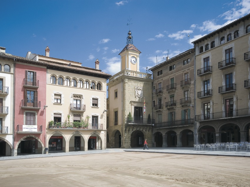 Plaça Major i Casa de la Vila  (Servicios Editoriales Georama)
